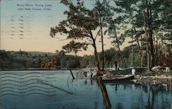 Rocky Point, Trinity Lake Postcard