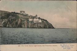 The Yerba Buena Light-House Postcard
