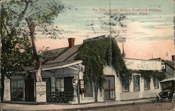 Ivy Cafe, Corner Willow Road and Midway Postcard