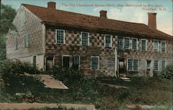 The Old Checkered House (Built 1800, Destroyed by Fire 1901)