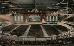 Interior of Convention Hall as Arranged for Theatrical Performances