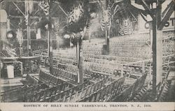 Rostrum of Billy Sunday Tabernacle, 1916.