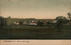 View on Golf Links Postcard