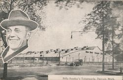Billy Sunday's Tabernacle Postcard