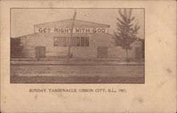 Sunday Tabernacle, 1907