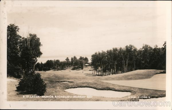 8th Green-Manior Richelieu- Murray Bay Montreal Canada