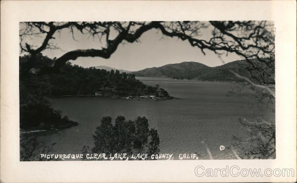 Picturesque Clear Lake Clearlake California
