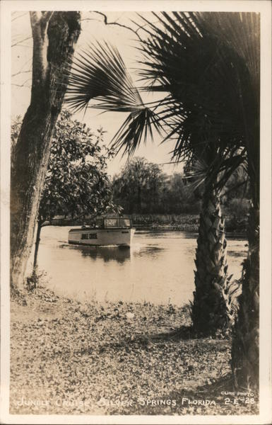 Jungle Cruise Silver Springs Florida Cline Photo