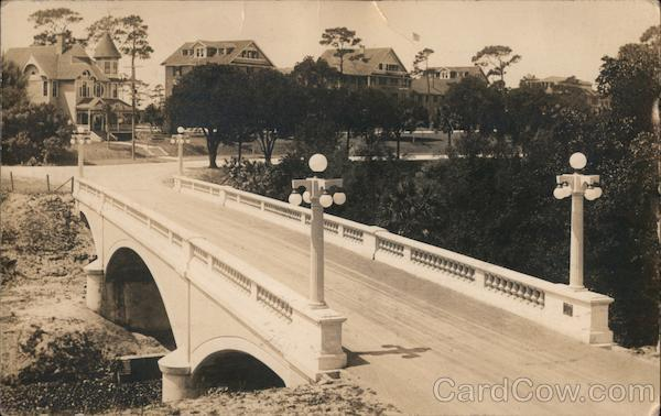 Bridge Built by Luten Bridge Company M.F. Plant The Belleview Hotel Belleair Florida