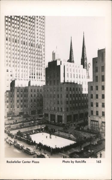 Rockefeller Center Plaza New York