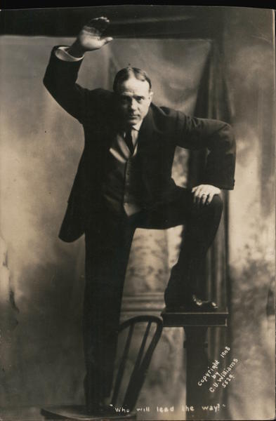 Who Will Lead the Way? Billy Sunday