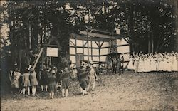 Historical Reenactment Postcard