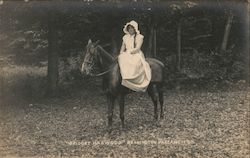 Bridget Harwood, Bennington Pageant, 1911 Postcard