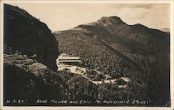 Nose House and Chin Mountain, Mt. Mansfield Postcard