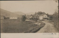 Railroad Depot Shaftsbury, VT Postcard