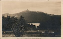 Chocorua Mt. and Lake From the Inn Postcard