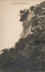Old Man of the Mountains, Franconia Notch Postcard
