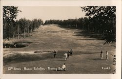 12th Green - Manoir Richelieu Postcard
