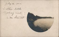Another Little Fryeburg View Postcard