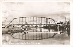 Chena River and 1st Avenue Postcard
