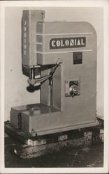 Colonial Hydraulic Press, Fairfield Equipment Co.