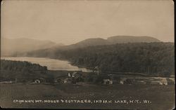Chimney Mountain House & Cottages Postcard