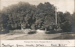 Wappingers Park Entrance Postcard