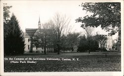 On the Campus of St. Lawrence University