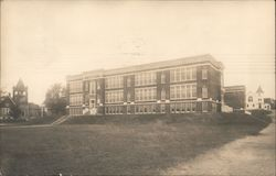 The George W. Sterns High School Postcard