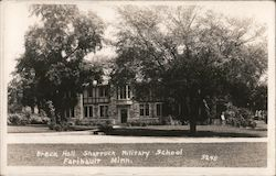 Breck Hall at Shattuck Military School Postcard