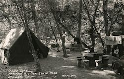 Camp Site, Big Sur State Park