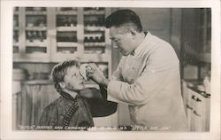 """Butch"" Jenkins and Chingwah Lee in MGM's Little Mr. Jim"
