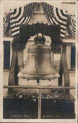 Liberty Bell at the Panama Pacific International Exhibition Postcard