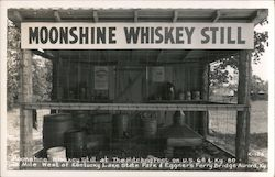 Moonshine Whiskey Still at the Hitching Post, Kentucky Lake State Park