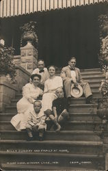 Billy Sunday and Family at Home