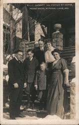 Billy Sunday Family at Home