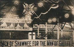 Men of Shawnee for the Man of Galilee - Tabernacle Interior