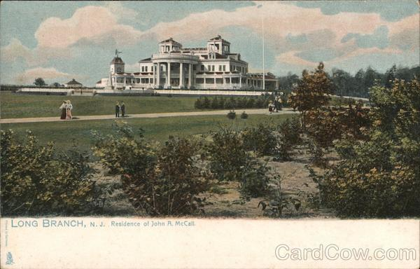 Residence of John R. McCall Long Branch New Jersey