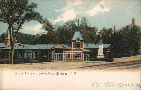 Congress Spring Park Saratoga New York