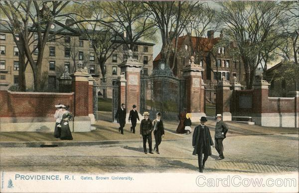 Gates, Brown University Providence Rhode Island
