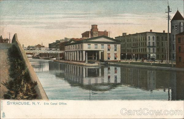 Erie Canal Office Syracuse New York