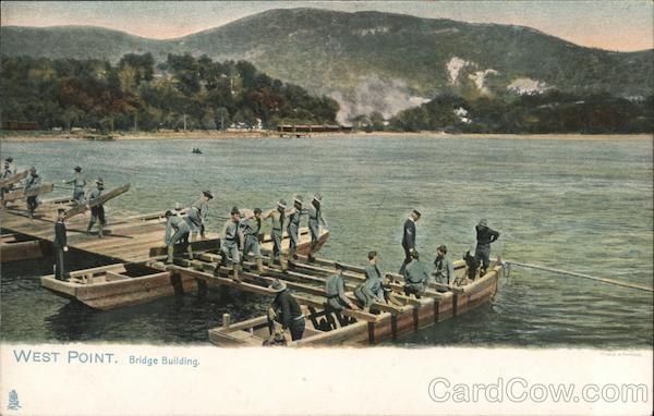 Bridge Building, Army Corps of Engineers West Point New York