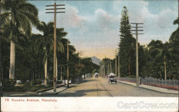 Nuuanu Avenue Honolulu Hawaii