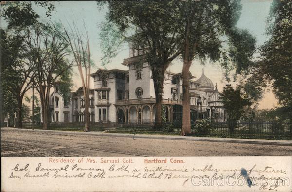 Residence of Mrs. Samuel Colt Hartford Connecticut