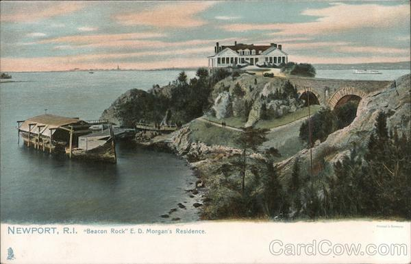 Beacon Rock: E.D. Morgan's Residence Newport Rhode Island