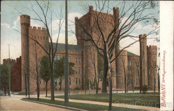 74th Regiment Armory Buffalo New York