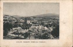 Ludlow, Vermont, From Gill Terrace