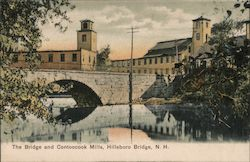 Hillsboro Bridge and Contoocook Mills