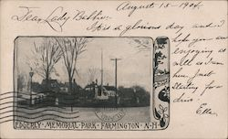 Edgerly Memorial Park Postcard
