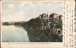 Bluff View from Tennessee River Bridge Postcard
